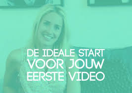 eerste video